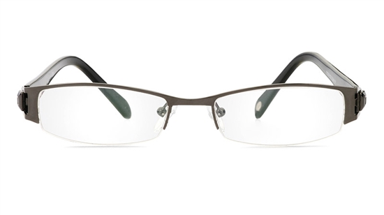 Vista First 1088 Stainless Steel/ZYL Mens&Womens Half Rim Optical Glasses
