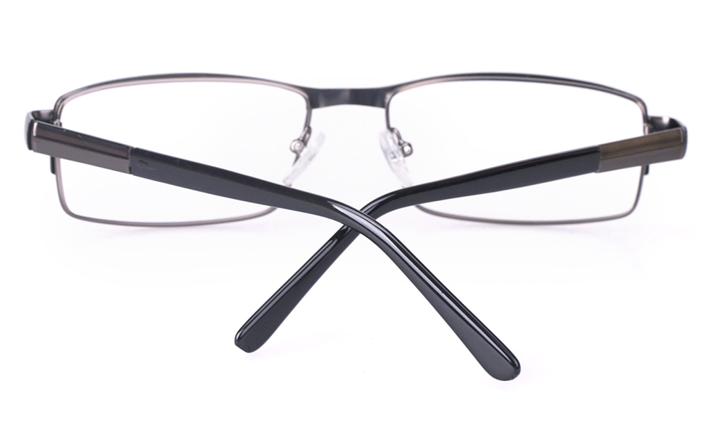 Poesia 6048 Stainless Steel Mens Full Rim Optical Glasses