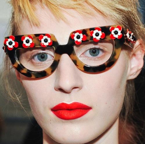 73814736309a Posied Prada Eyewear Spring 2013 by finestglasses.com