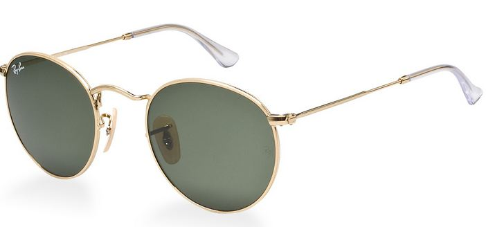 246872e19d0 If this is the case then these Ray Ban Round Metal sunglasses are the  coolest models at the moment. The retro round shape and crystal green  lenses work so ...