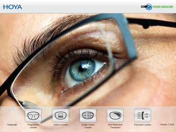 Augmented Reality App From Hoya Vision Care By Finestglasses Com