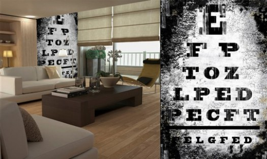 In Memory Of Herman Snellen Rip Eye Chart Decor By
