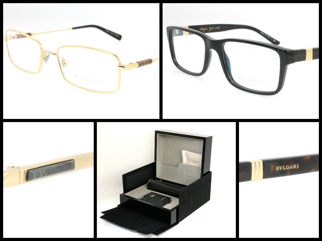 Limited Edition Exclusive – Bvlgari Gold 18kt Eyewear by ...