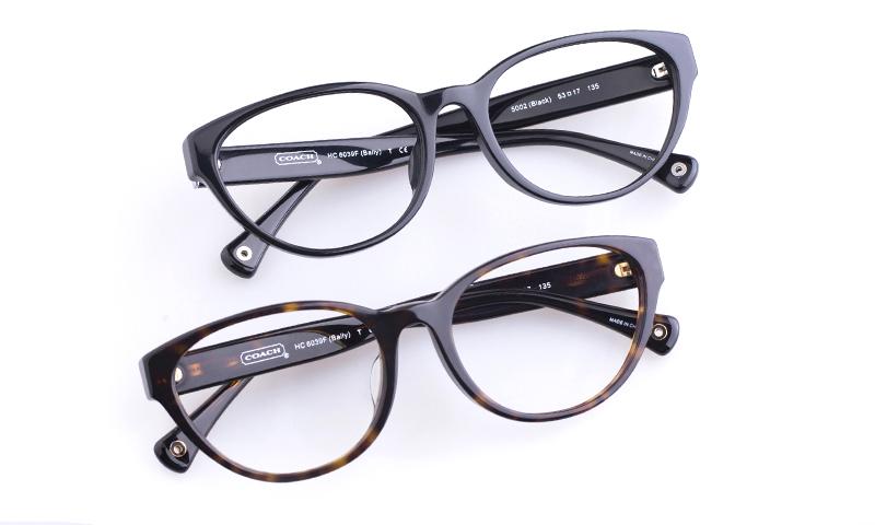 Coach HC6039F Acetate Womens Cat eye Full Rim Optical Glasses