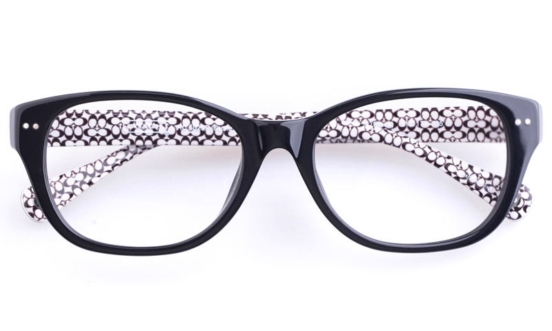 Coach HC6029F Acetate Womens Oval Full Rim Optical Glasses