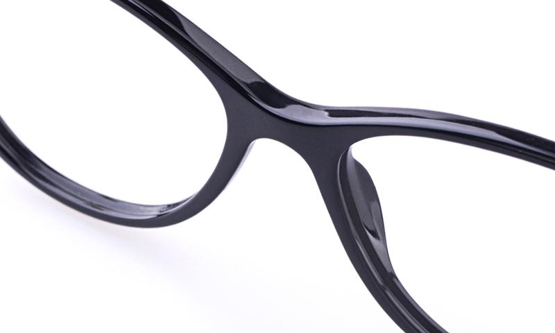 76263691ab8 Versace VE3175 Acetate Womens Cat eye Full Rim Optical Glasses(Black)