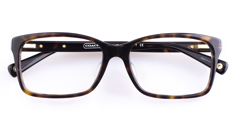 Coach HC6043F Acetate Mens Square Full Rim Optical Glasses(Dime)