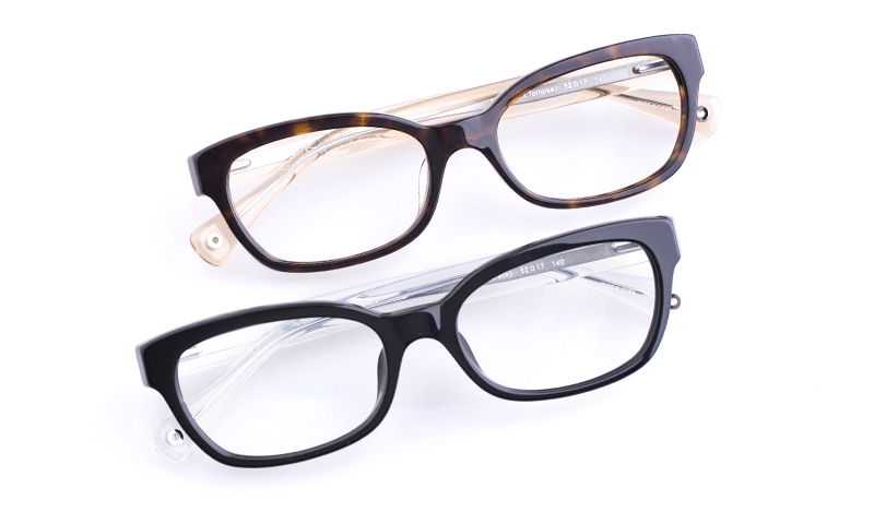 c79ace02cb Coach HC6042F Acetate Womens Cat eye Full Rim Optical Glasses (Dime~Transparent)
