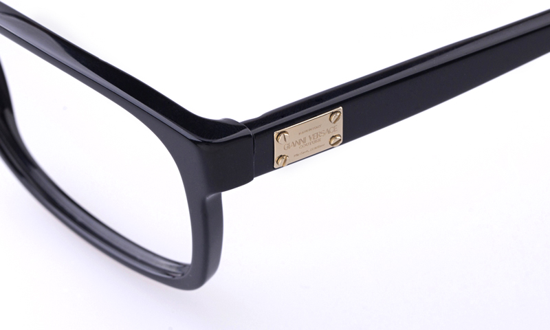 4a7fca2c4fec Versace VE3173 Acetate Mens Oval Full Rim Optical Glasses(Black)