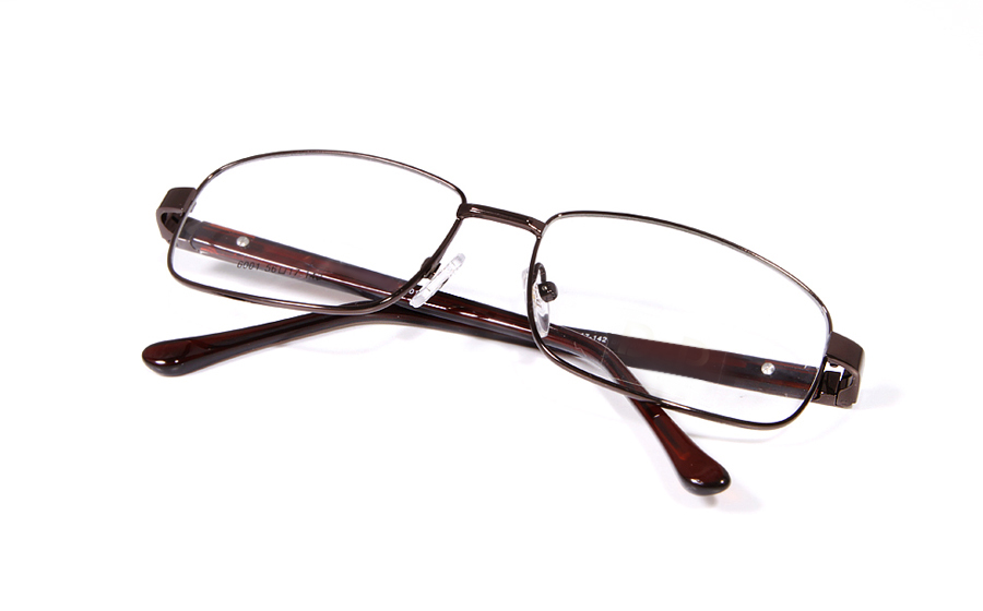 Poesia 6001 Stainless Steel Full Rim Mens Optical Glasses