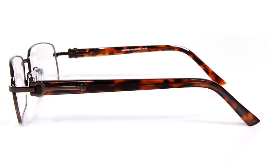 Poesia 6016 Stainless Steel Full Rim Mens Optical Glasses