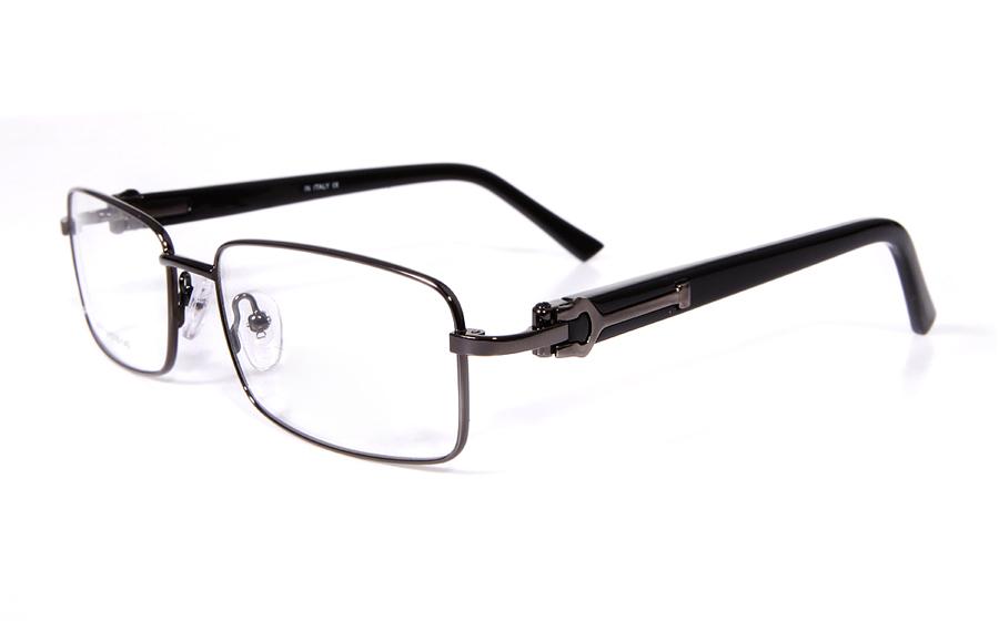 Poesia 6017 Stainless Steel Full Rim Mens Optical Glasses