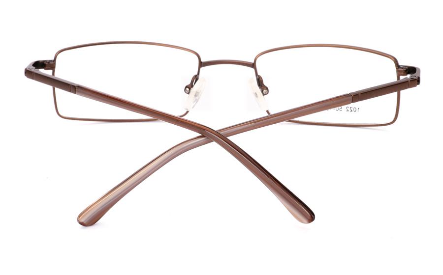 Vista First 1022 Stainless Steel/ZYL Full Rim Mens Optical Glasses