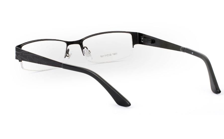 1397 Stainless Steel Mens&Womens Half Rim Optical Glasses