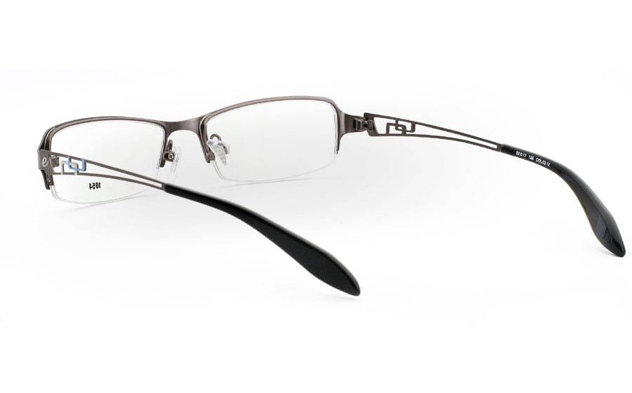 E1054 Stainless Steel Mens&Womens Half Rim Optical Glasses