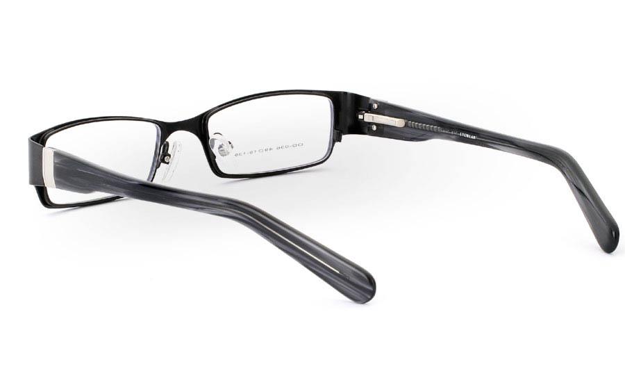 OD-036 Stainless Steel/ZYL Full Rim Mens Optical Glasses