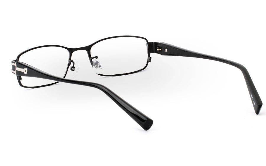 OD-2904 Stainless Steel/ZYL Mens&Womens Full Rim Optical Glasses