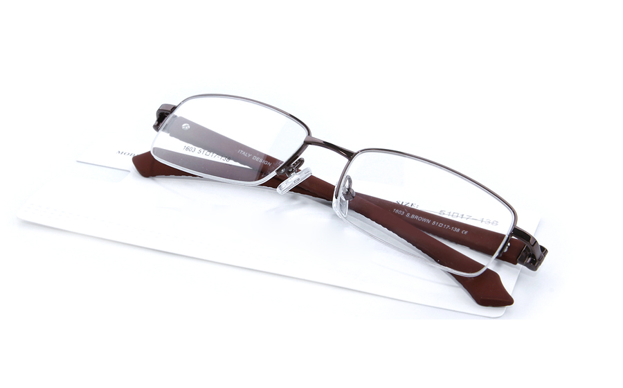 Vista First 1603 Half Rim Mens Optical Glasses