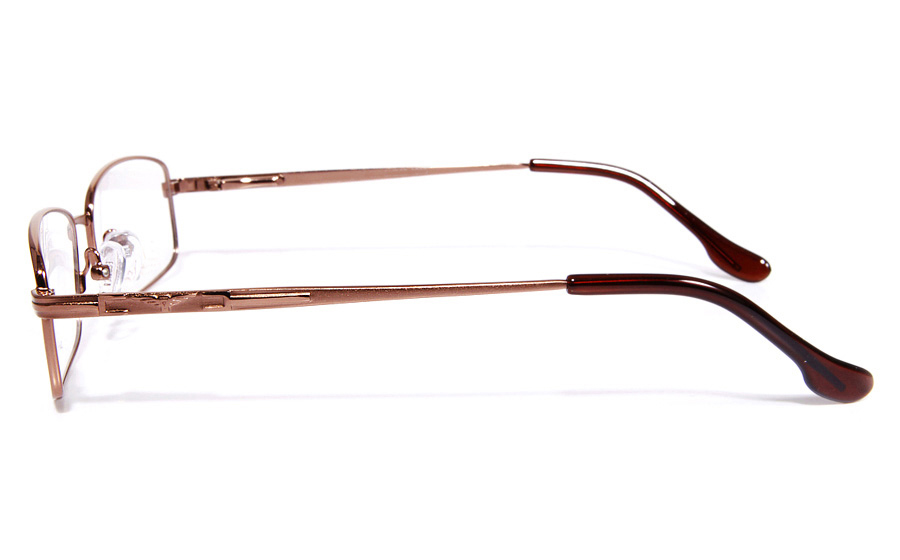 Poesia eso6601 Stainless Steel Mens&Womens Full Rim Optical Glasses