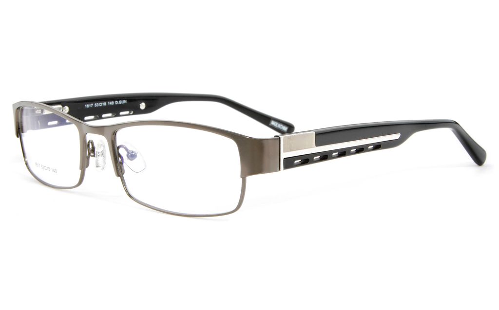 Vista First 1617 Stainless Steel Full Rim Mens Optical Glasses