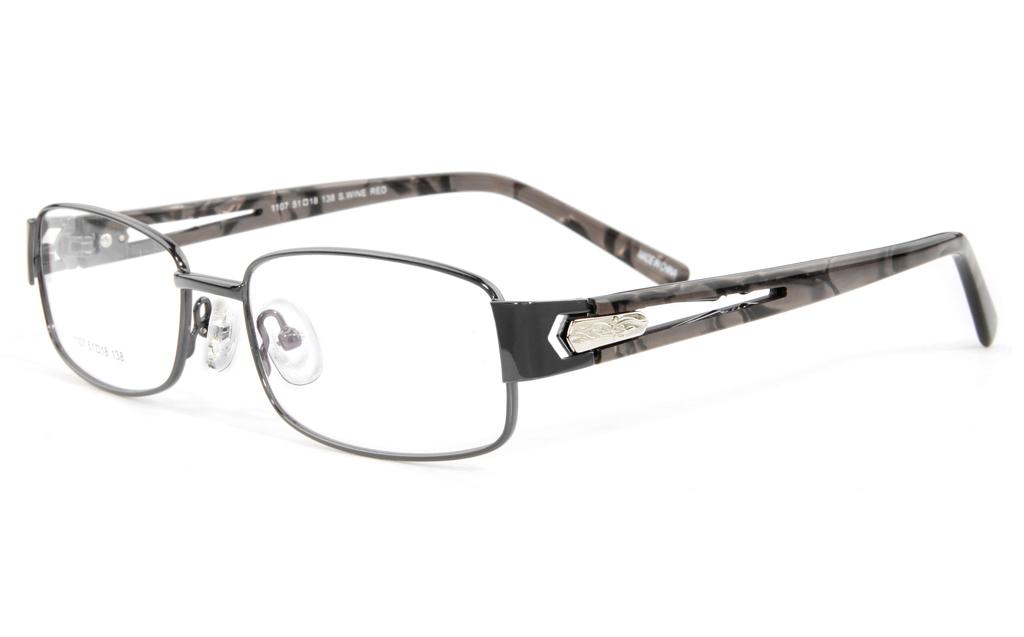 Vista First 1107 Stainless Steel Full Rim Womens Optical Glasses
