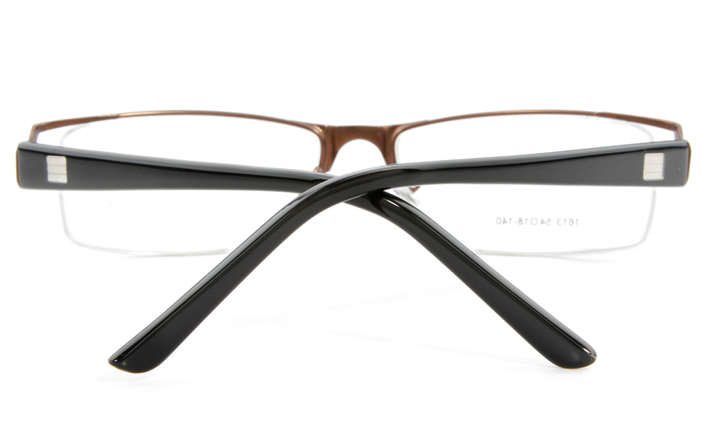 Vista First 1613 Stainless Steel Semi-rimless Mens Optical Glasses