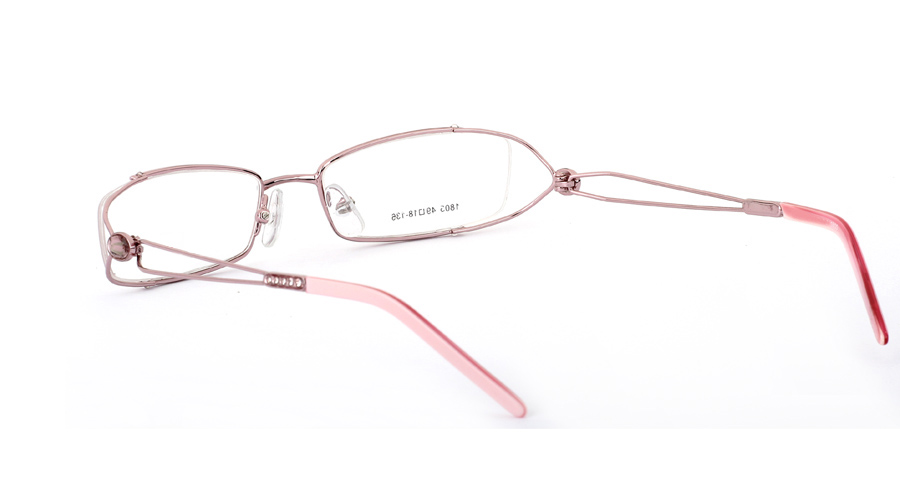 Vista First 1805 Stainless Steel Semi-rimless Womens Optical Glasses