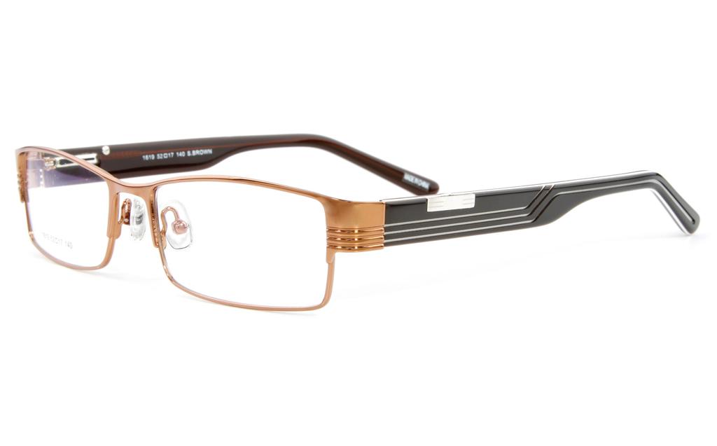 Vista First 1619 Stainless Steel Full Rim Mens Optical Glasses