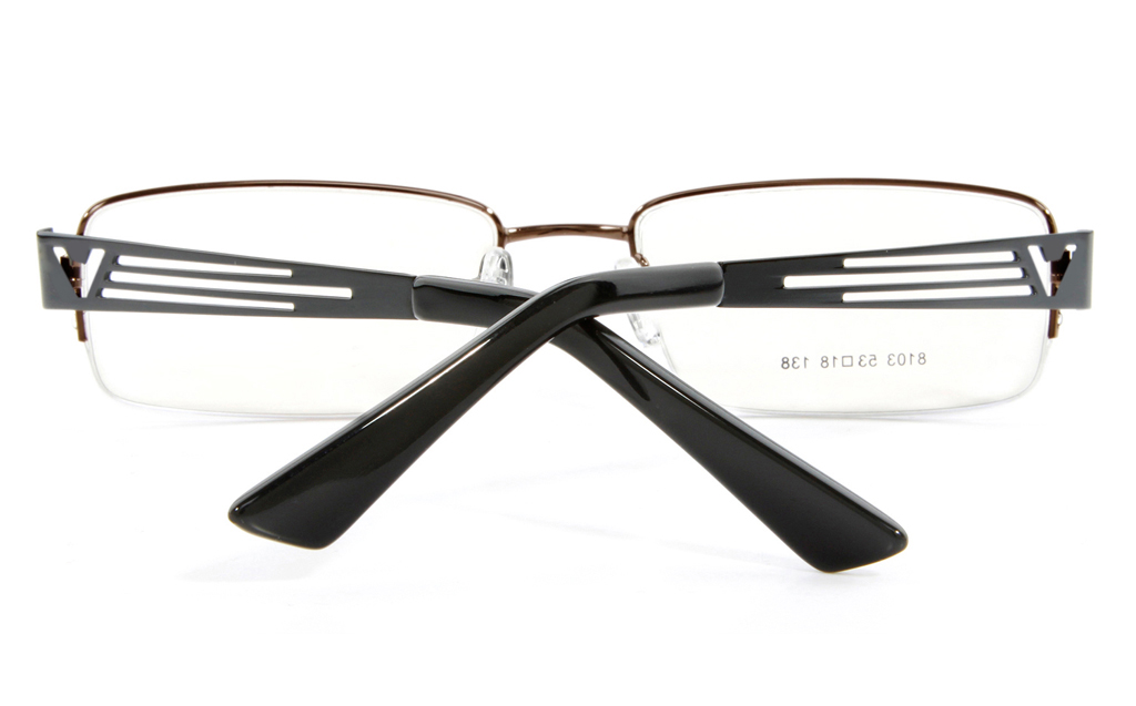 Vista First 8103 Stainless Steel Mens&Womens Semi-rimless Optical Glasses