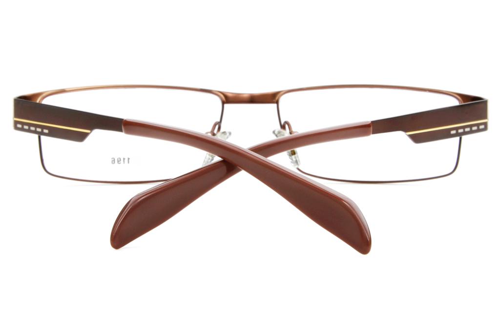 Stainless Steel Mens Full Rim Square Optical Glasses