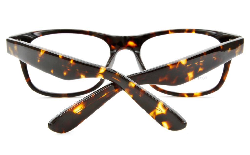 F011 Acetate(ZYL) Mens&Womens Full Rim Wayfarer Optical Glasses