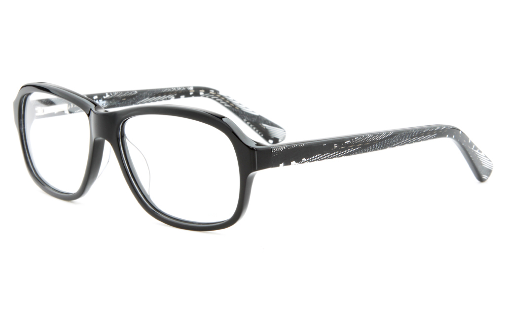T6016 Acetate(ZYL) Mens&Womens Full Rim Square Optical Glasses