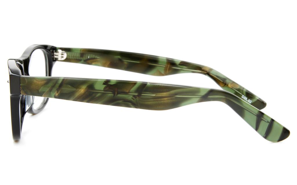 F011 Acetate(ZYL) Mens&Womens Full Rim Optical Glasses