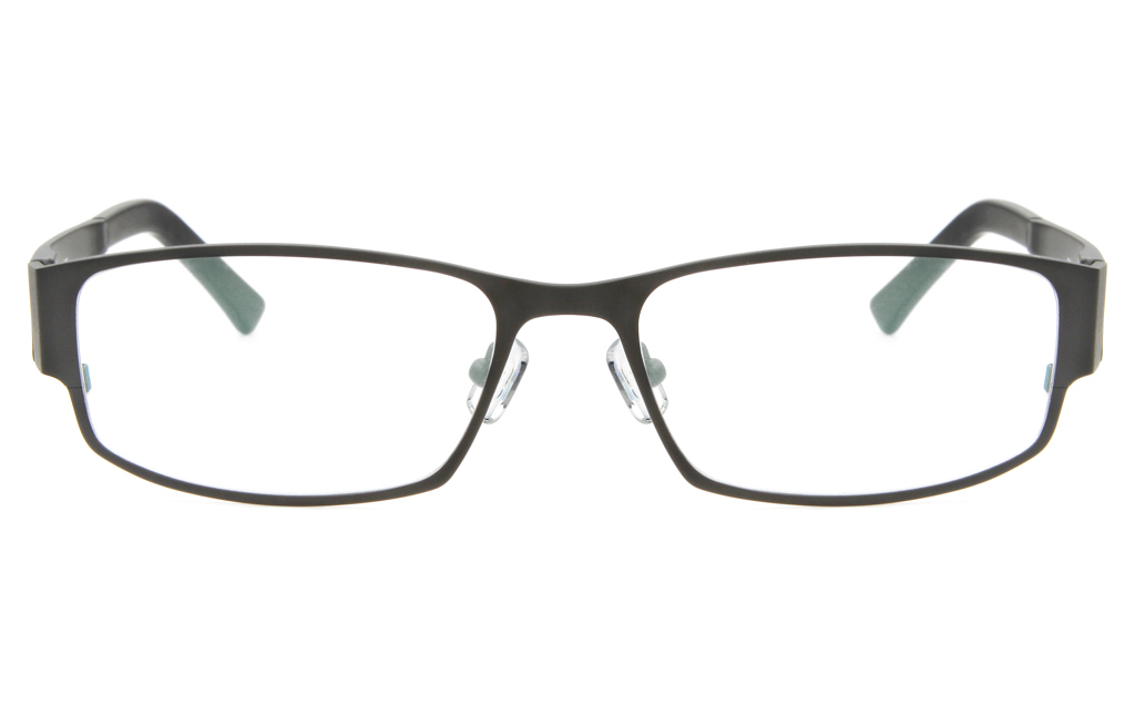 Z6617 Stainless Steel/TR90 Mens Full Rim Square Optical Glasses