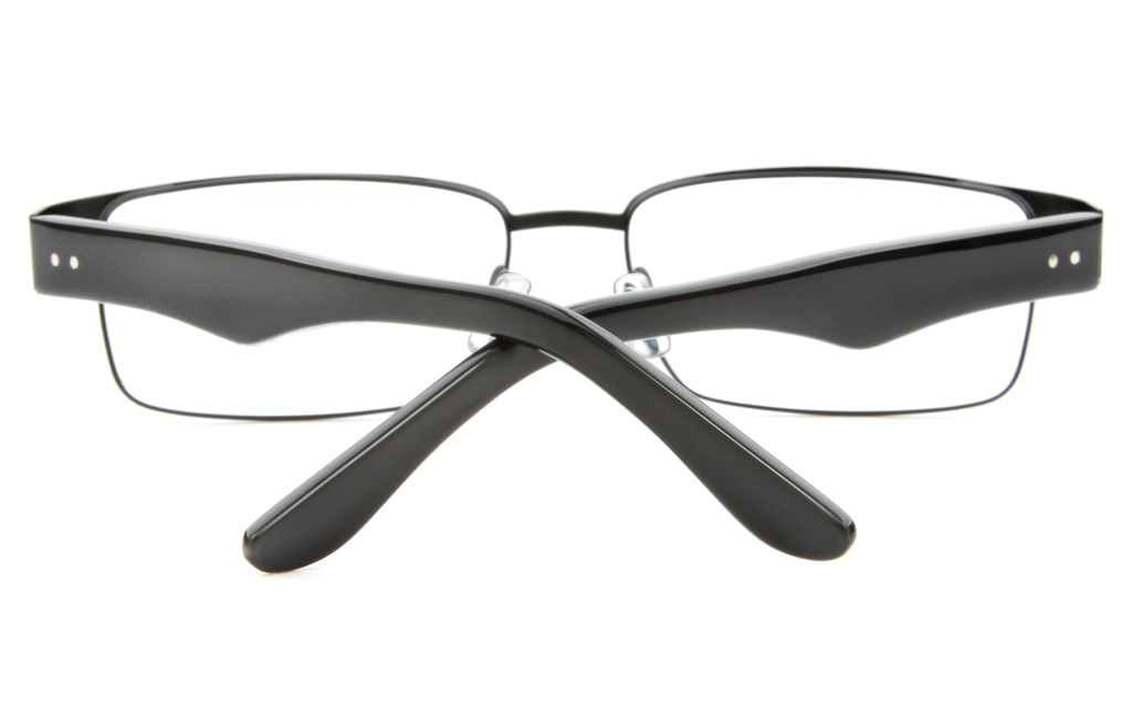 Z6579 Stainless Steel/ZYL Mens Full Rim Square Optical Glasses
