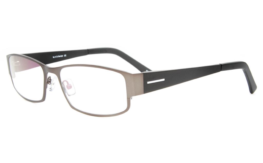 Z6617 Stainless Steel/TR90 Mens Full Rim Square Optical Glasses