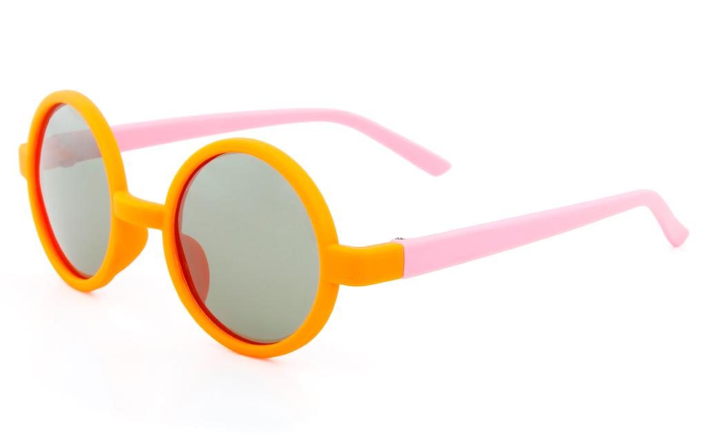 1c3af3e942a6 ... Vista Sport CH9 Polycarbonate(PC) Kids Full Rim Round Sunglasses ...