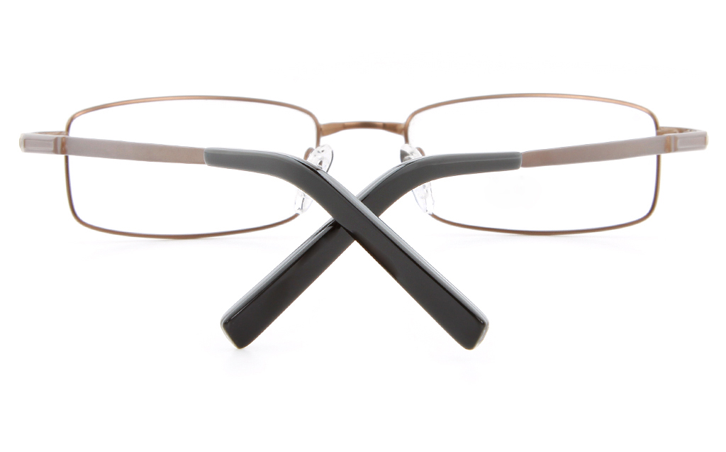 Vista First 2117 Titanium Memory Mens Full Rim Square Optical Glasses