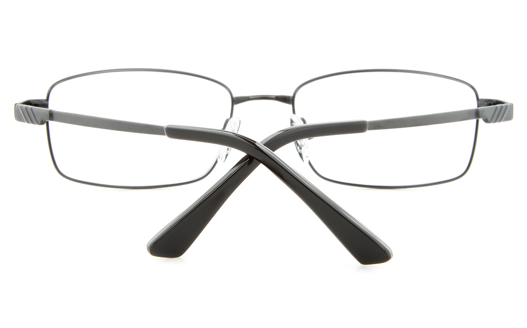 Vista First 2112 Titanium Memory Mens Full Rim Square Optical Glasses