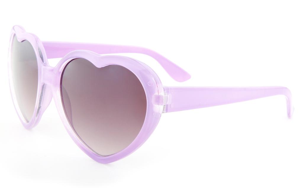Vista Sport 841 Propionate Kids Full Rim Heart-Shaped Sunglasses