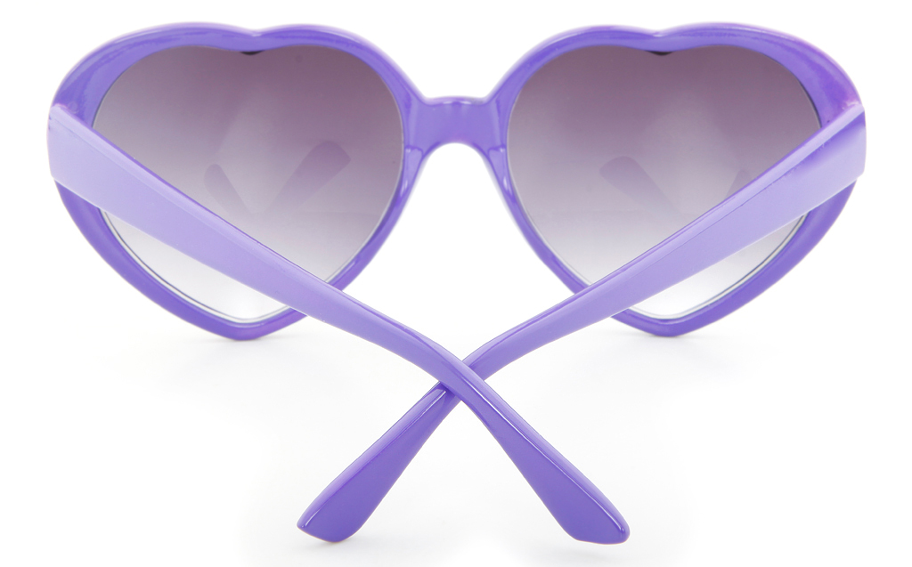Vista Sport YS9000 Propionate Mens&Womens Full Rim Heart-shaped Sunglasses