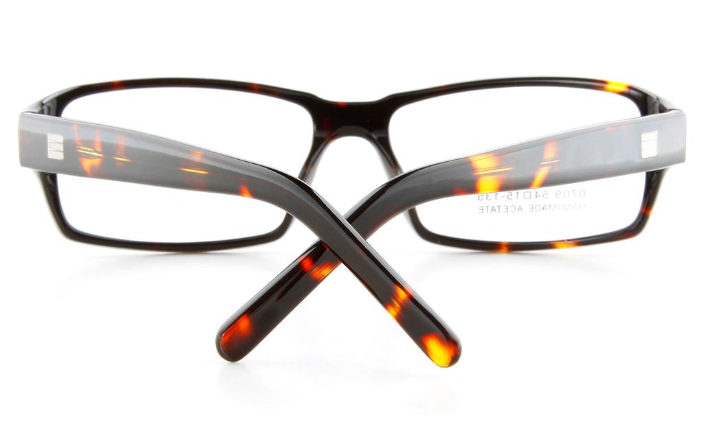 Vista First 0709 Acetate(ZYL) Mens Full Rim Optical Glasses - Square Frame