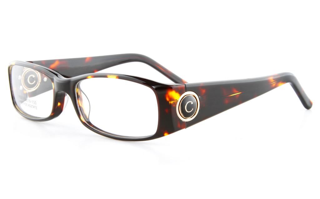 Vista First 0823 Acetate(ZYL) Mens Full Rim Optical Glasses - Square Frame
