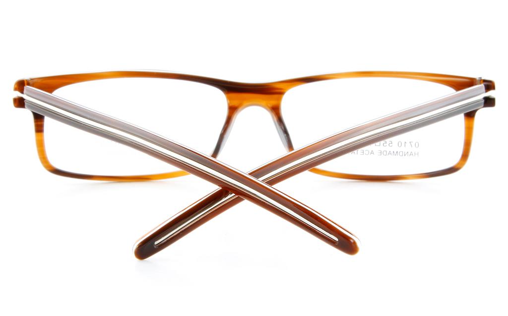 Vista First 0710 Acetate(ZYL) Mens&Womens Full Rim Optical Glasses - Square Frame