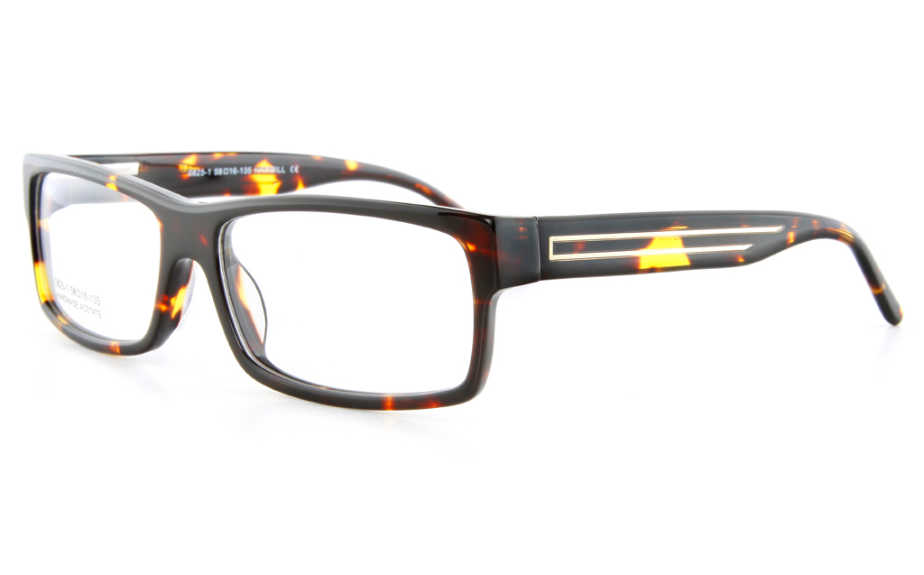 Vista First 0825-1 Acetate(ZYL) Mens Full Rim Optical Glasses - Square Frame