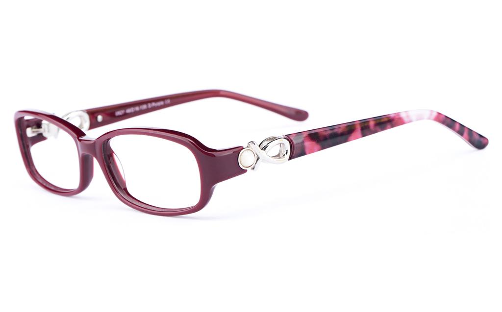 Vista First 0827 Acetate(ZYL) Womens Oval Full Rim Optical Glasses