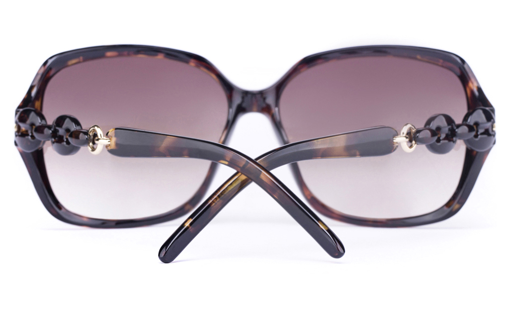 Vista Sport 2332 Propionate Womens Square Full Rim Sunglasses