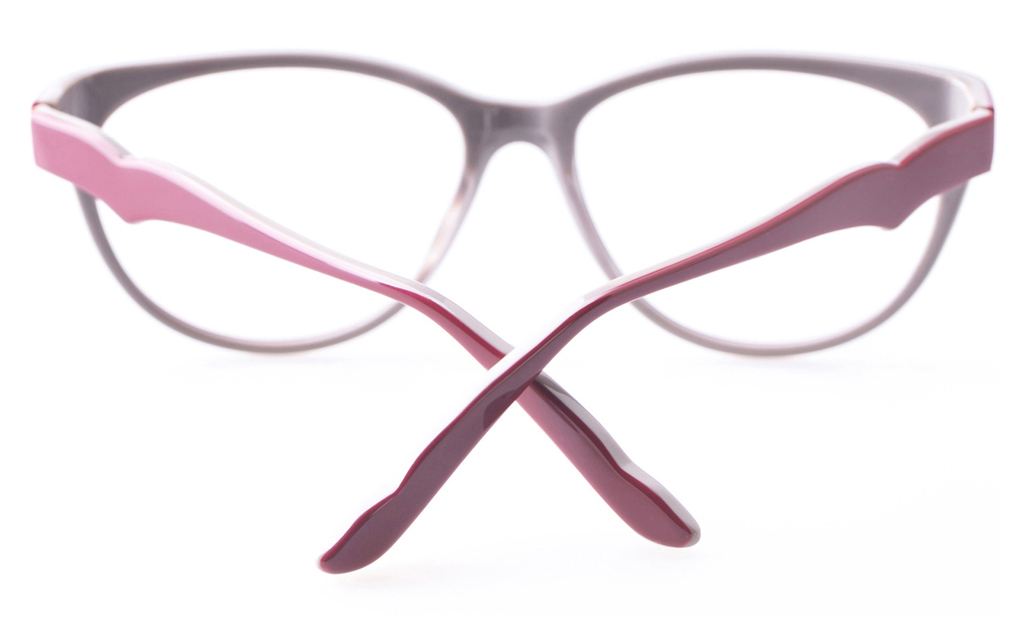 Vista First CL6020 Acetate(ZYL) Womens Cat eye Full Rim Optical Glasses
