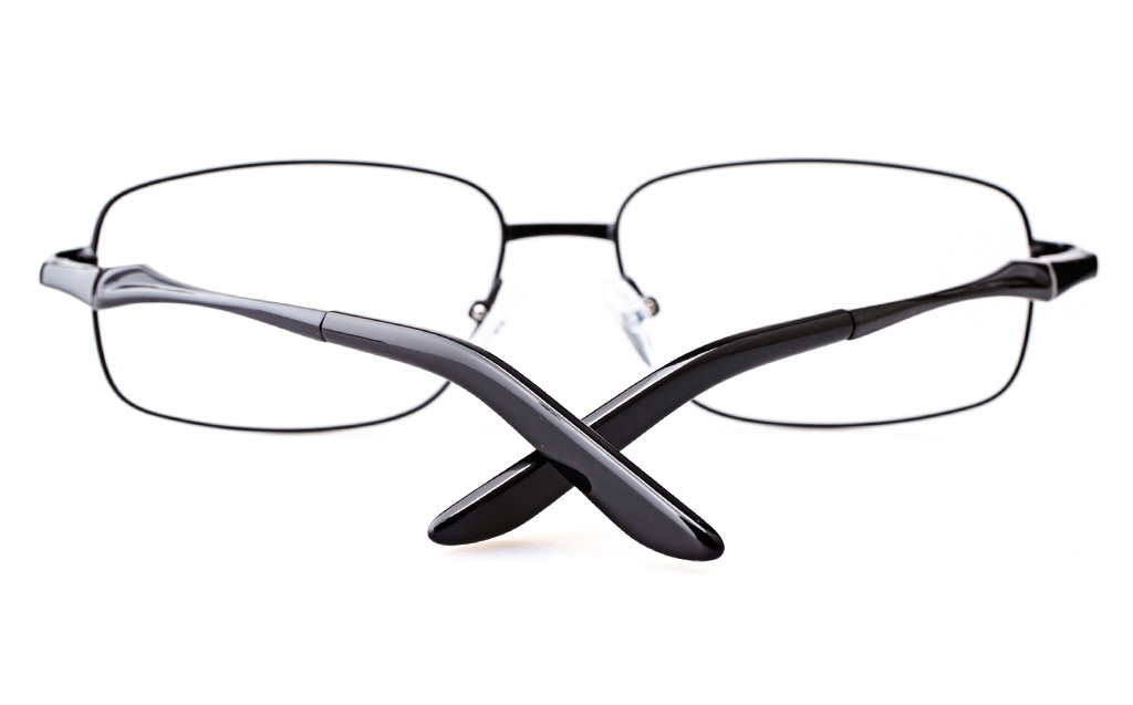 Vista Sport 9109 Stainless steel Mens Square Full Rim Optical Glasses