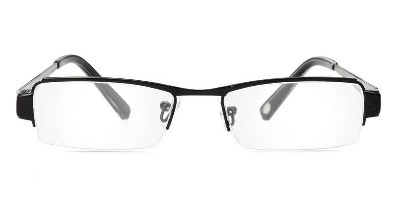 Vista First 1052 Stainless Steel/ZYL Mens&Womens Half Rim Optical Glasses